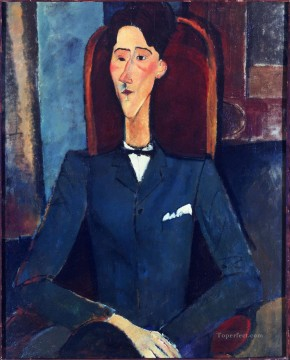 Amedeo Modigliani Painting - Jean Cocteau Amedeo Modigliani