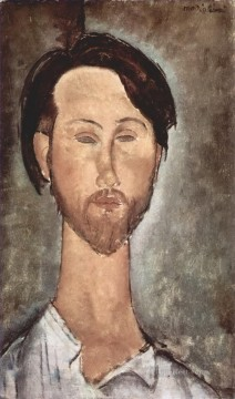 Portrait of Leopold Zborowski 2 Amedeo Modigliani Oil Paintings