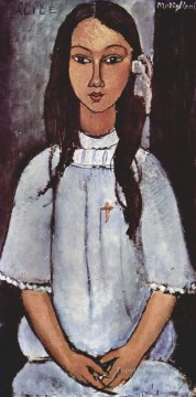 modigliani - alice 1915 Amedeo Modigliani