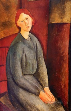 Amedeo Oil Painting - annie bjarne 1919 Amedeo Modigliani
