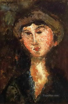 Amedeo Modigliani Painting - beatrice hastings 1914 Amedeo Modigliani