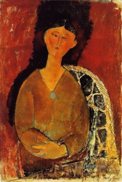beatrice hastings seated 1915 Amedeo Modigliani Oil Paintings