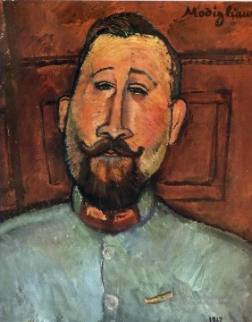 1917 Canvas - doctor devaraigne 1917 Amedeo Modigliani