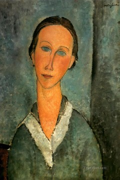 1918 Painting - girl in a sailor s blouse 1918 Amedeo Modigliani
