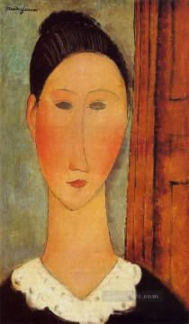 modigliani - head of a girl Amedeo Modigliani