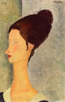 jeanne hebuterne 1918 1 Amedeo Modigliani Oil Paintings