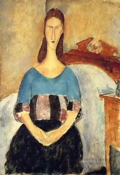 jeanne hebuterne 1919 1 Amedeo Modigliani Oil Paintings