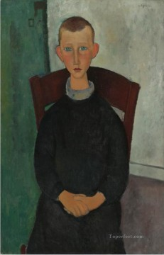 le fils du concierge Amedeo Modigliani Oil Paintings
