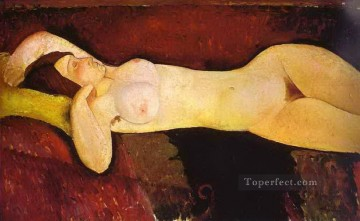 Amedeo Modigliani Painting - le grand nu the great nude 1917 Amedeo Modigliani