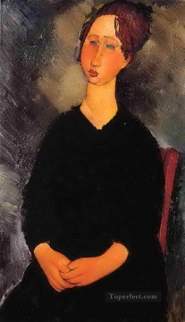 little serving woman 1919 Amedeo Modigliani Oil Paintings