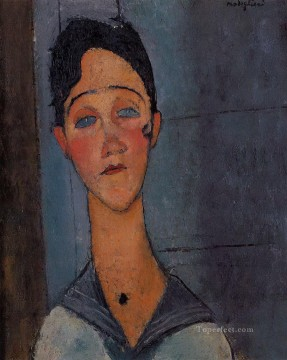 louise 1917 Amedeo Modigliani Oil Paintings