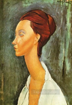 lunia czechovska 1919 Amedeo Modigliani Oil Paintings