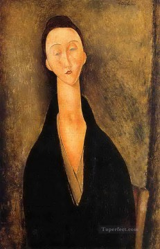 lunia czechowska 1919 Amedeo Modigliani Oil Paintings