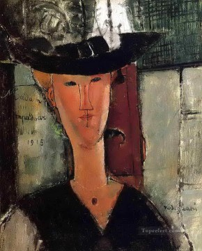 Amedeo Modigliani Painting - madame pompadour 1915 Amedeo Modigliani