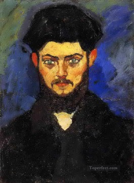 Modigliani Art Painting - maurice drouard 1909 Amedeo Modigliani
