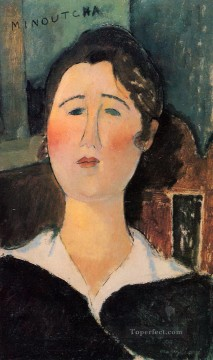 minoutcha Amedeo Modigliani Oil Paintings