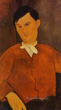 Amedeo Oil Painting - monsier deleu 1916 Amedeo Modigliani