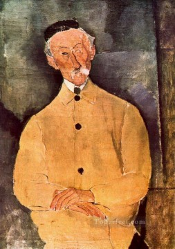 Amedeo Modigliani Painting - monsieur lepoutre 1916 Amedeo Modigliani