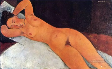 1917 Canvas - nude 1917 Amedeo Modigliani