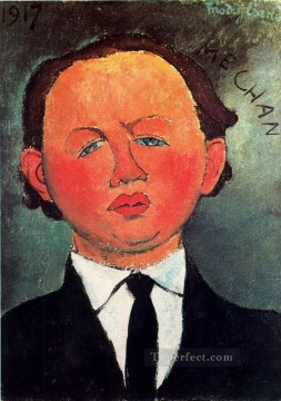 1917 Canvas - oscar miestchaninoff 1917 Amedeo Modigliani