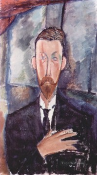 Amedeo Oil Painting - portrait de paul alexanders 1913 Amedeo Modigliani