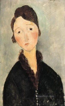portrait of a young woman 1 Amedeo Modigliani Oil Paintings
