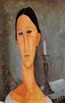 Amedeo Modigliani Painting - portrait of anna zborowska 1919 Amedeo Modigliani