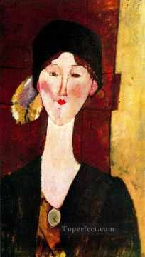 portrait of beatrice hastings before a door 1915 Amedeo Modigliani Oil Paintings