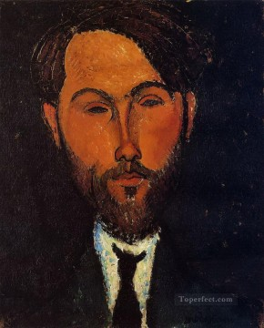 portrait of leopold zborowski 1 Amedeo Modigliani Oil Paintings