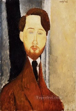 modigliani - portrait of leopold zborowski 1919 Amedeo Modigliani