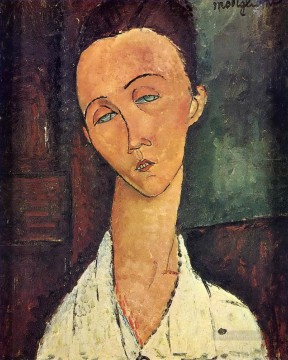 Amedeo Modigliani Painting - portrait of lunia czechowska 1918 Amedeo Modigliani