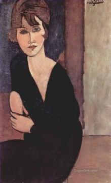 Amedeo Modigliani Painting - portrait of madame reynouard 1916 Amedeo Modigliani
