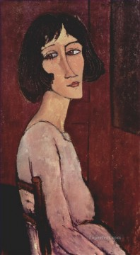 Amedeo Modigliani Painting - portrait of margarita 1916 Amedeo Modigliani