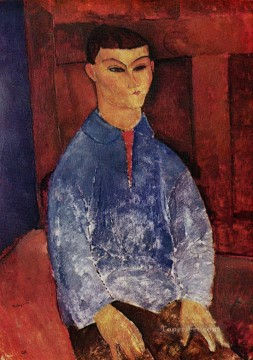 Amedeo Oil Painting - portrait of moise kisling Amedeo Modigliani