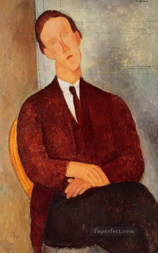 portrait of morgan russell 1918 Amedeo Modigliani Oil Paintings
