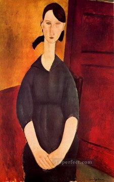 modigliani - portrait of paulette jourdain 1919 Amedeo Modigliani