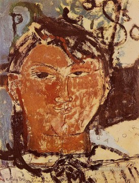 portrait of picasso 1915 Amedeo Modigliani Oil Paintings