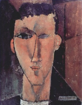 portrait of raymond 1915 Amedeo Modigliani Oil Paintings