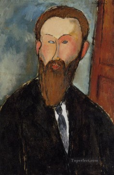 modigliani - portrait of the photographer dilewski 1916 Amedeo Modigliani