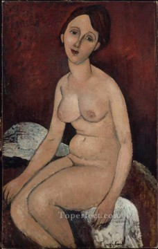 modigliani - seated nude Amedeo Modigliani