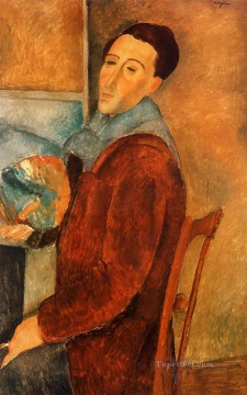 modigliani - self portrait 1919 Amedeo Modigliani