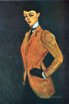 Amedeo Modigliani Painting - the amazon 1909 Amedeo Modigliani