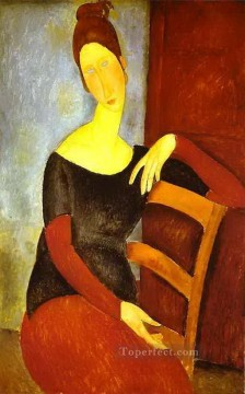 1918 Painting - the artist s wife 1918 Amedeo Modigliani
