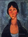 the blue blouse Amedeo Modigliani