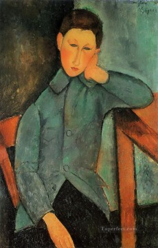 the boy Amedeo Modigliani Oil Paintings
