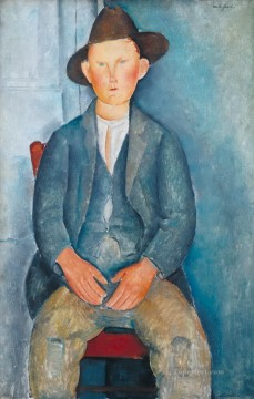 modigliani - the little peasant Amedeo Modigliani