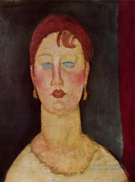 Amedeo Modigliani Painting - the singer from nice Amedeo Modigliani