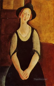 Amedeo Oil Painting - thora klinckowstrom 1919 Amedeo Modigliani