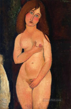 1917 Canvas - venus standing nude 1917 Amedeo Modigliani