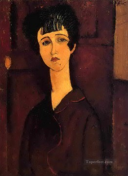 Amedeo Oil Painting - victoria 1916 Amedeo Modigliani